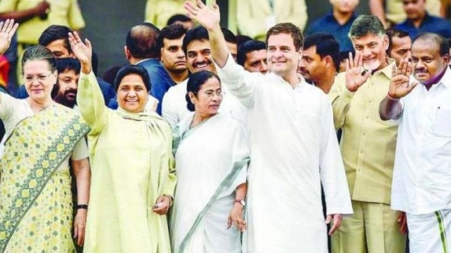 Exit poll majority for NDA causes anxiety in Opposition ranks