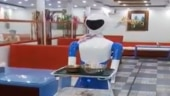 Watch: Robot serves food in this Karnataka restaurant