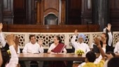 Sonia Gandhi praises Rahul at CPP meet