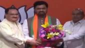 4 Telegu Desam Party's Rajya Sabha MPs join BJP