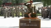 Army pays tributes to Havildar Manzoor Ahmed who was killed by terrorists