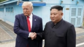 Trump meets Kim Jong Un, becomes first US president to cross border into North Korea