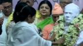 Mamata Banerjee installs Ishwar Chandra Vidyasagar's statue in Kolkata