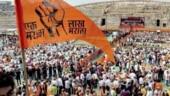 File photo of Maratha stir