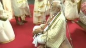 PM Narendra Modi offers prayers at Guruvayur temple in Kerala