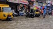 Heavy rains in Mumbai, traffic hit, roads waterlogged
