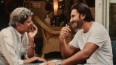 Kapil Dev and Ranveer Singh
