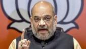 Amit Shah visits Kashmir, holds high-level security meet