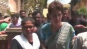 Family members of Sonbhadra clash victims meet Priyanka Gandhi at UP guesthouse