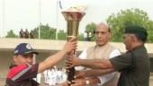 Kargil War anniversary: Rajnath Singh ignites Victory Flame from National War Memorial in New Delhi