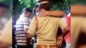 Drunk man hugs, kisses cop in Hyderabad