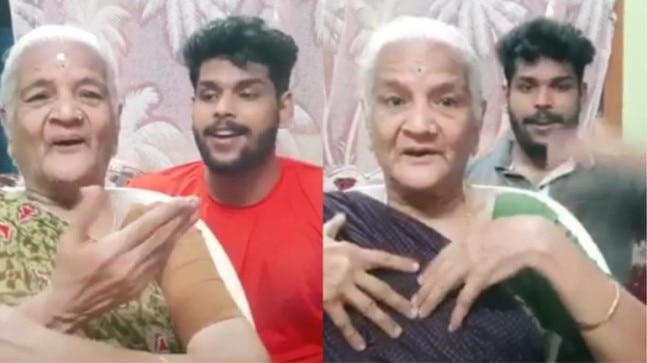 Watch: Grandma-grandson duo takes TikTok by storm with adorable videos