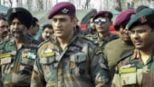 Image of the day: Dhoni joins his Army unit in South Kashmir
