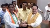 Watch: JP Nadda welcomes 10 rebel Goa Congress MLAs into BJP