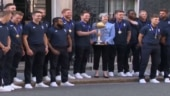 Image of the day: England's World Cup winning team meet PM Theresa May