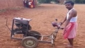 Good news: Jharkhand farmer develops a low-cost tractor like machine from scrap