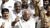 Karnataka crisis: BJP aces trust vote, Yeddyurappa likely to take oath as CM on Friday