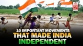 10 important movements that contributed to India's independence