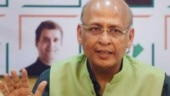 Modi govt's move of revoking Article 370 will be challenged: Abhishek Manu Singhvi