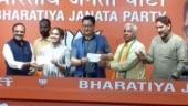 Babita Phogat, father Mahavir Phogat join BJP