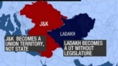 Article 370: J&K stripped of special status, Modi govt redraws map