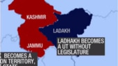 Jammu & Kashmir split into two, this is what the J&K map will look like now