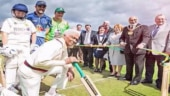 Image of the day: Carribean cricketer Cecil Wright retires at 85