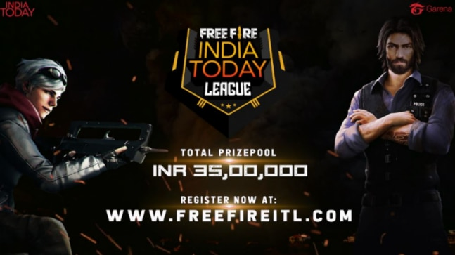 Free Fire India Today League Register Now Freefireitl