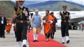 PM Modi reaches Bhutan for his two-day visit