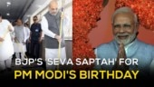 'Seva Saptah' to mark 69th birthday of PM Modi