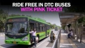 Travel free with Pink Ticket in DTC buses