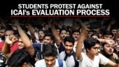 Why are CA students protesting against ICAI?