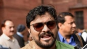 Babul Supriyo heckled at Jadavpur University in Kolkata
