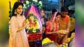 Watch: Kavach actress Deepika Singh dances her heart out at Ganpati Visarjan