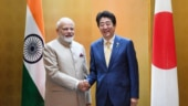 First up: Modi meets Japanese PM Shinzo Abe in Russia