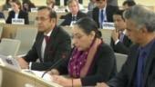 Pakistan's allegations on Kashmir concocted: India slams Pak at UNHRC