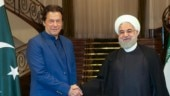 Imran Khan met Hassan Rouhani on Sunday