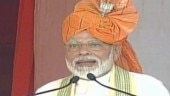 PM Modi addressing Haryana rally