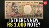 Is Modi govt launching a new Rs 1,000 note?