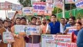 BJP leaders protest against Delhi CM Arvind Kejriwal over water quality