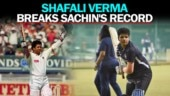 Shafali Verma becomes youngest Indian to smash international fifty