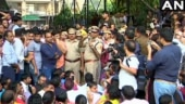 Watch| Angry Delhi cops drown out senior officer's attempts to talk to them