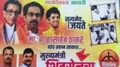 Watch: Shiv Sena puts up poster featuring Bal Thackeray, Indira Gandhi ahead of Uddhav's swearing-in