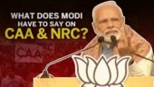 Narendra Modi on CAA & NRC protest