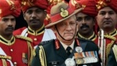 General Bipin Rawat appointed as India's first CDS