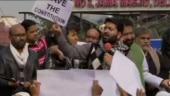 Anti-CAA protests outside Delhi's Jama Masjid, Jor Bagh