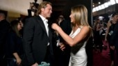 Brad Pitt and Jennifer Aniston at SAG Awards 2020