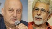 War of words breaks out between Naseeruddin Shah and Anupam Kher