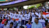 Image of the day: Spectators protest CAA, NPR during the game between India and Australia in Wankhede