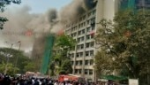 Massive fire breaks out at GST Bhavan in Mumbai's Byculla area